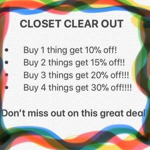 Other - ❗️❌Closet clear out❌❗️